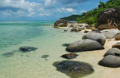 Bai Sao beach in Phu Quoc - Viet Nam