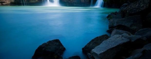 Dray-Sap waterfall. Buon Me Thuot in Vietnam