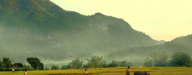 Heading to Mai Chau - Vietnam in June