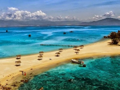Mun island in Nha Trang bay