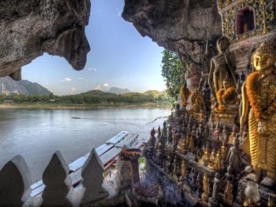 pak ou cave laos travel