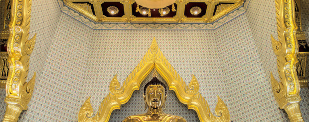 Golden Buddha Wat Traimit - Thailand tour