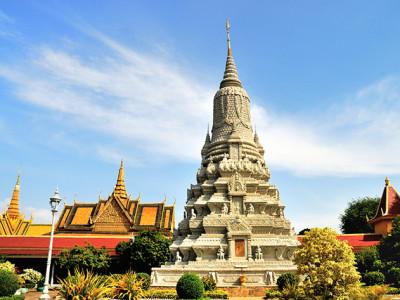 Silver Pagoda - Cambodia tour