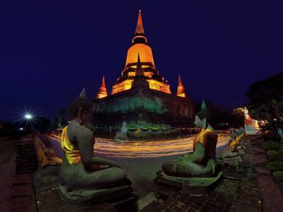 Wat Yai Chaimongkhol Temple Ayudtaya - Thailand Tour