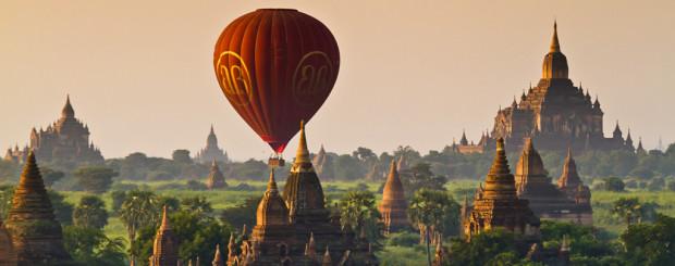 Balloons Over Bagan - Myanmar tour